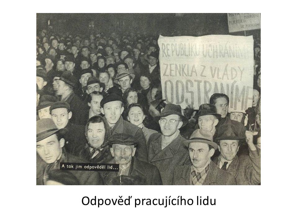 Odpověď pracujícího lidu