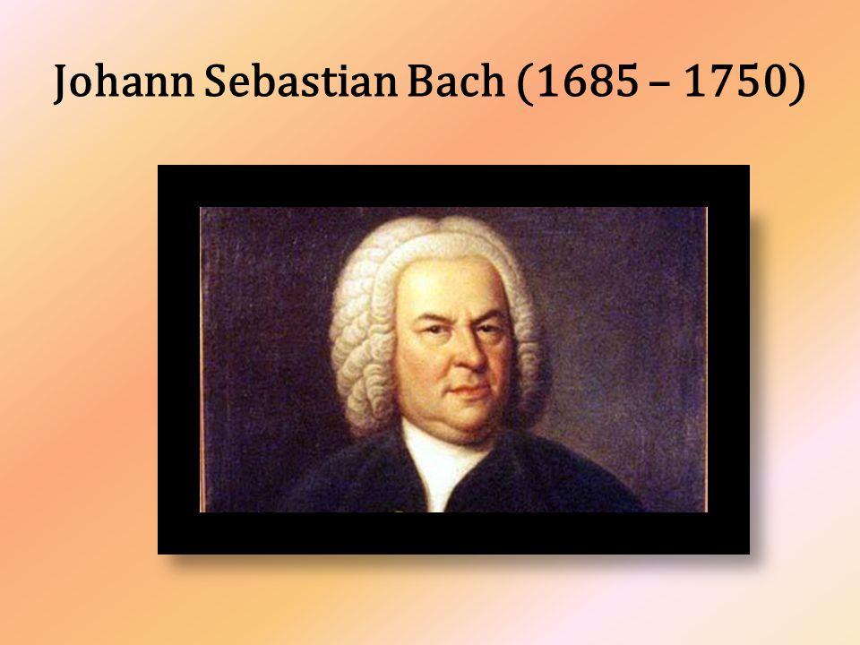 Narodil se v německém Eisenachu roku 1685 v rodině dvorského a městského hudebníka.