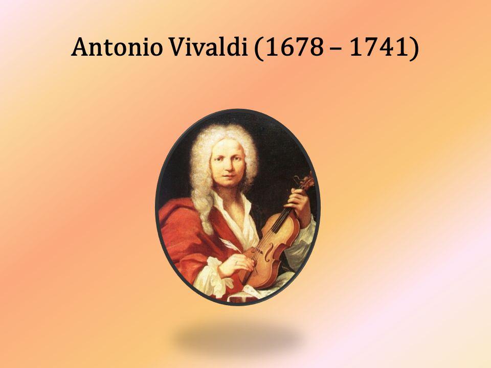 Antonio Vivaldi patří k nejskvělejším skladatelům italské klasické hudby.