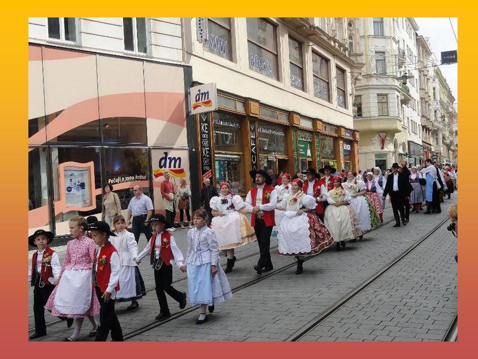 Hrála dechová hudba Šohajka - Dolní Bojanovice