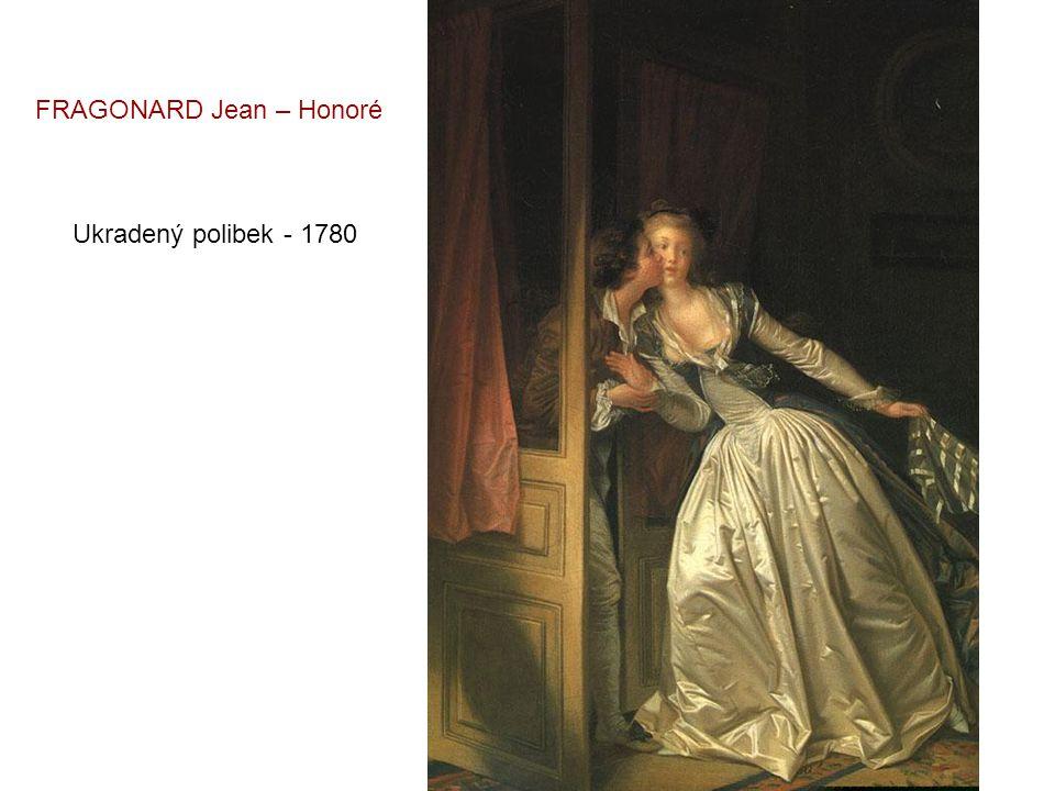 Milostný dopis - 1770 FRAGONARD Jean – Honoré