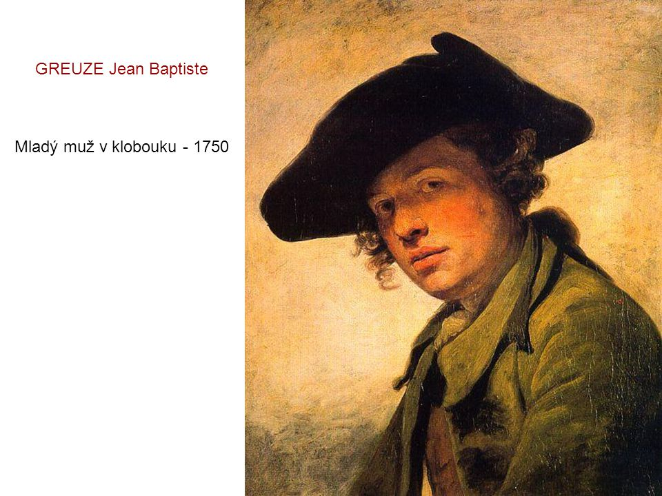 GREUZE Jean Baptiste Rozmazlené dítě - 1765