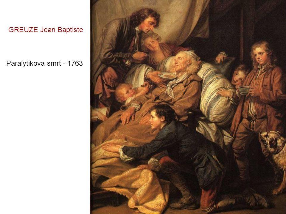 Mladý muž v klobouku - 1750 GREUZE Jean Baptiste