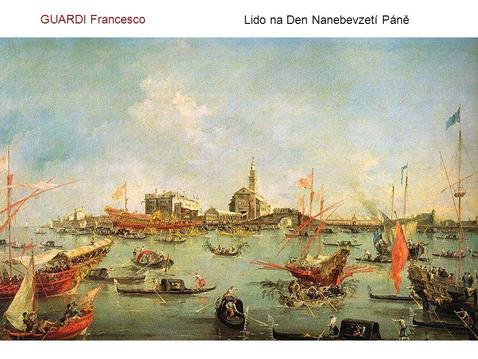 GUARDI Francesco Benátská dóžecí slavnost
