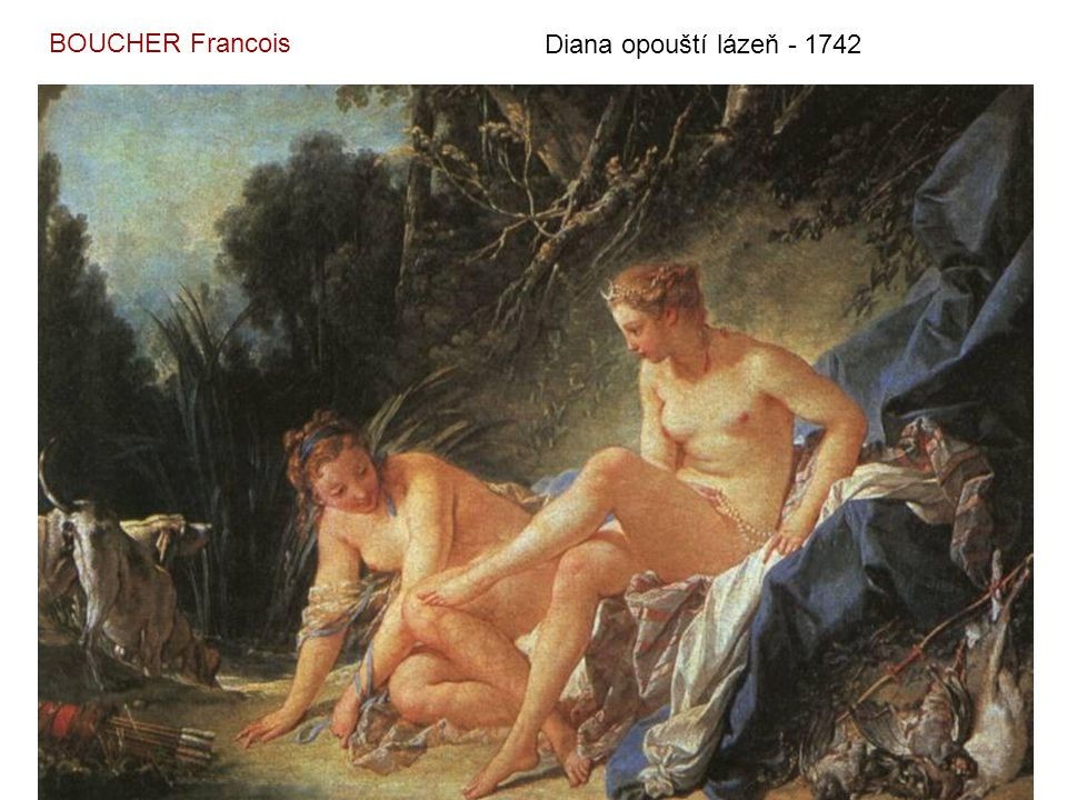 Toaleta - 1742 BOUCHER Francois