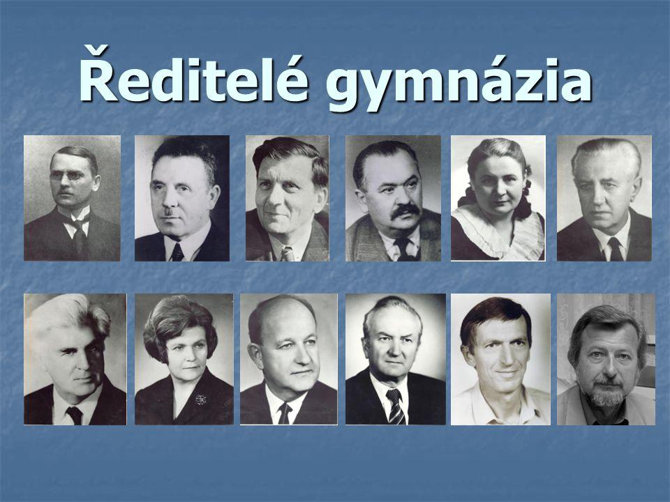 Ředitelé gymnázia