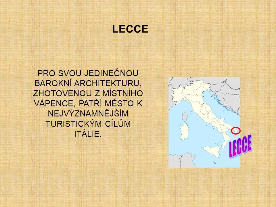I T A L I E LECCE (Puglia)