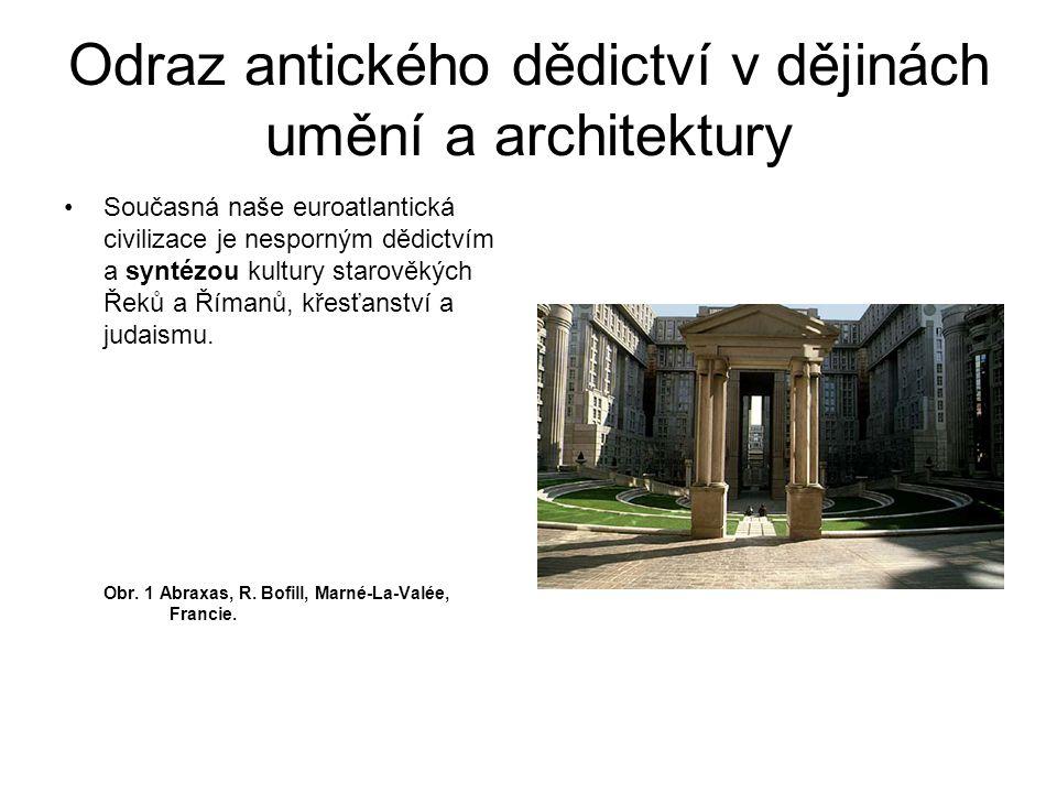 Současná naše euroatlantická civilizace je nesporným dědictvím a syntézou kultury starověkých Řeků a Římanů, křesťanství a judaismu. Obr. 1 Abraxas, R