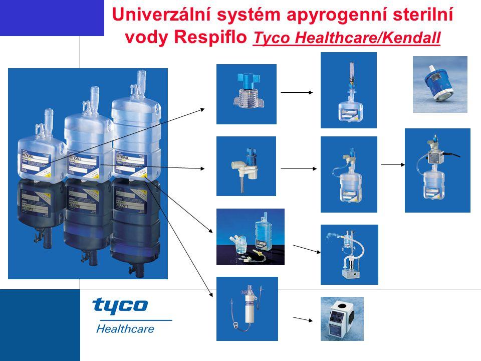 Univerzální systém apyrogenní sterilní vody Respiflo Tyco Healthcare/Kendall