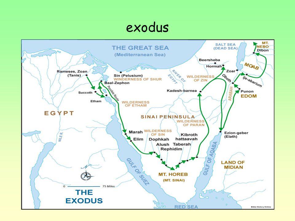 Jedním z hlavních proroků judaismu je Mojžíš. Vysvobodil izraelitský lid z otroctví a vyvedl ho z Egypta. Na konci cesty, která vedla napříč Sinajskou