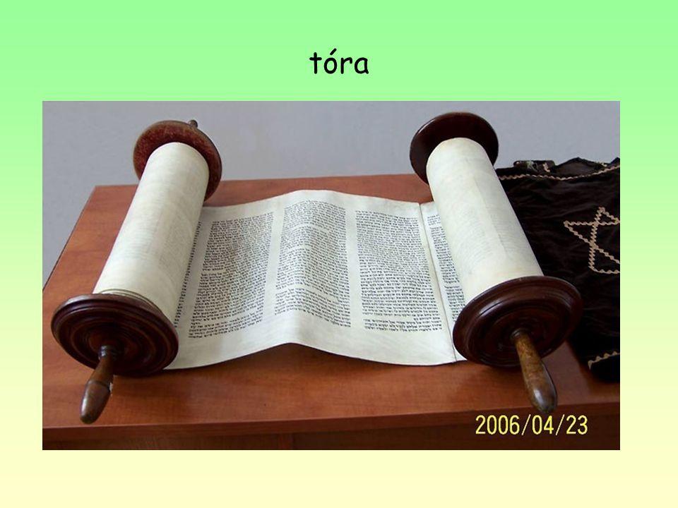 Nejdůležitější část- Pět knih Mojžíšových- hebrejsky Tóra (=Zákon) Srovnávacím studiem různých materiálů je možno nalézt ve Starém zákoně historické j