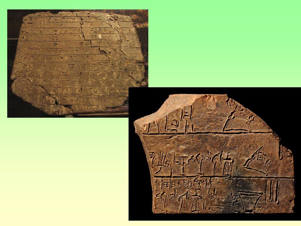 písmo Z hieroglyfů se na Krétě vyvinulo lineární písmo A a lineární písmo B Lineární písmo A je dosud nedešifrováno Jazyk nerozluštěn