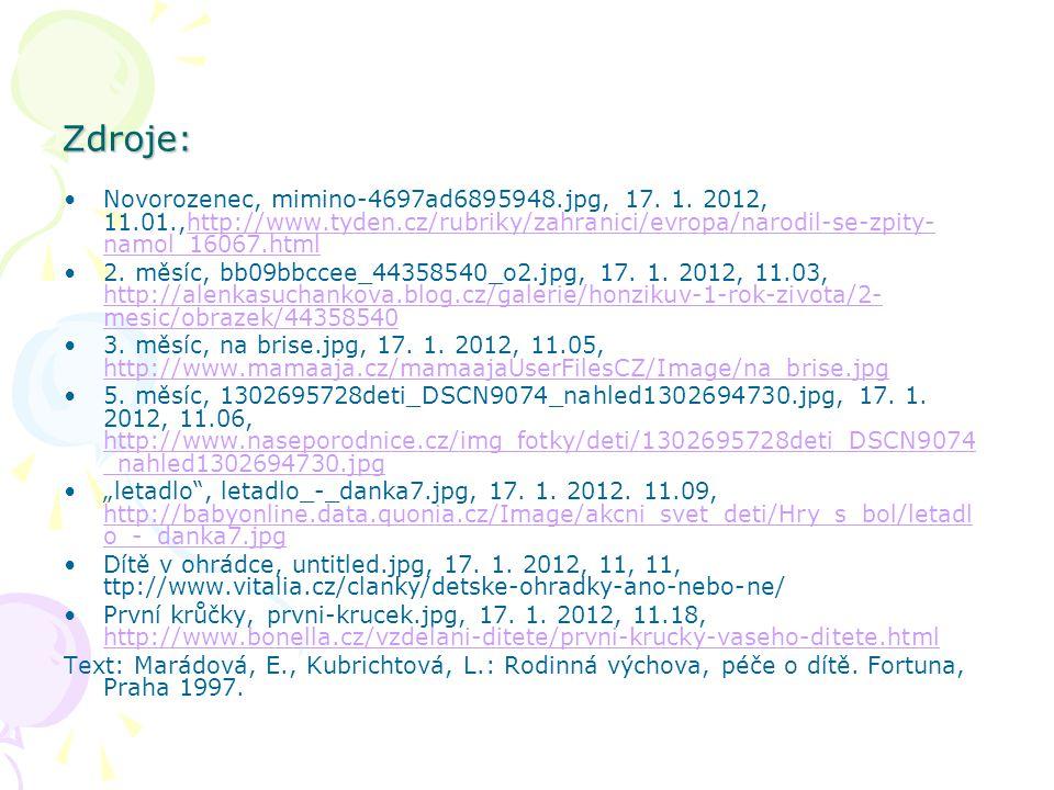Zdroje: Novorozenec, mimino-4697ad6895948.jpg, 17. 1. 2012, 11.01.,http://www.tyden.cz/rubriky/zahranici/evropa/narodil-se-zpity- namol_16067.htmlhttp