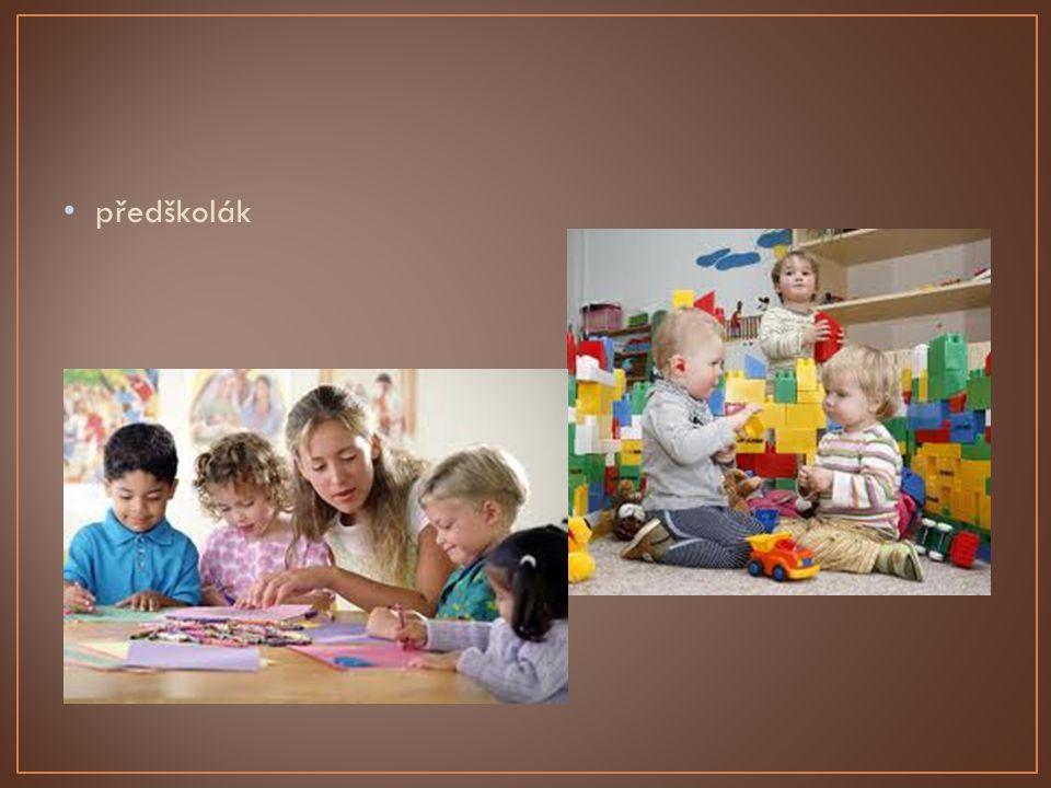 Dělíme ho na starší a mladší Důležitým mezníkem tohoto období je vstup dítěte do školy Starší školní věk se již prolíná s dospíváním Tělesné tvary dítěte se zaoblují Jsou patrny rozdíly mezi kluky a holčičkami v postavě Projevují se první známky osobnosti, nadání a talentu Rozvíjejí se pohybové vlastnosti