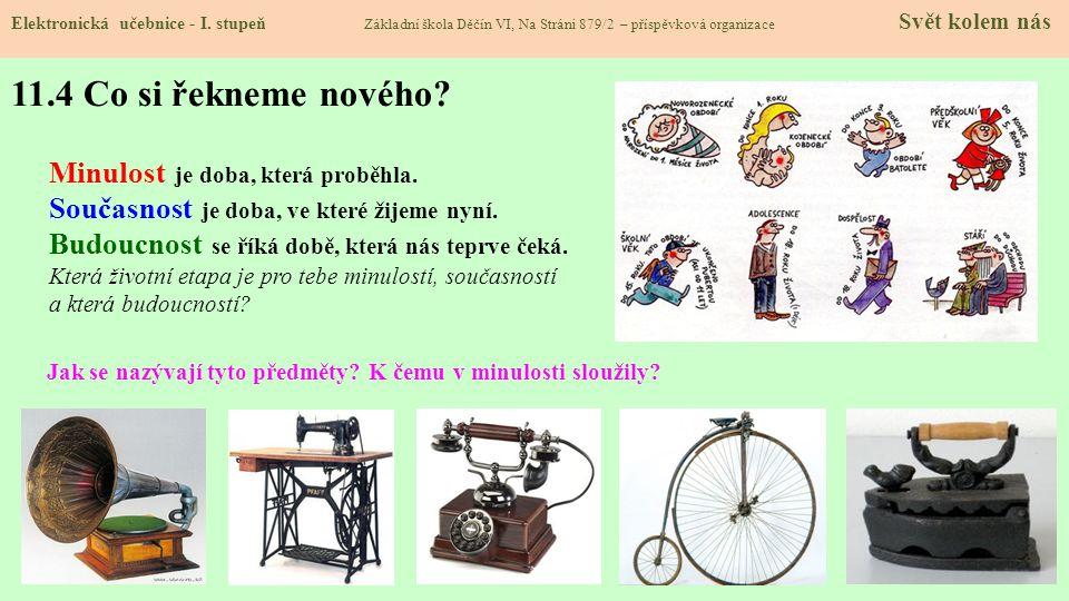 11.3 Etapy lidského života Elektronická učebnice - I.