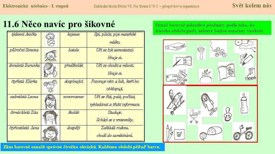 11.6 Něco navíc pro šikovné Elektronická učebnice - I.