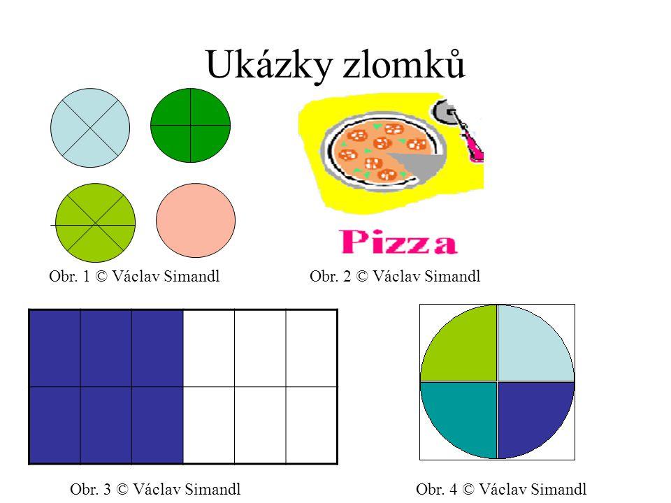 Ukázky zlomků Obr. 1 © Václav SimandlObr. 2 © Václav Simandl Obr. 3 © Václav SimandlObr. 4 © Václav Simandl