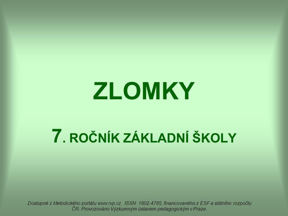 ZLOMKY 7.