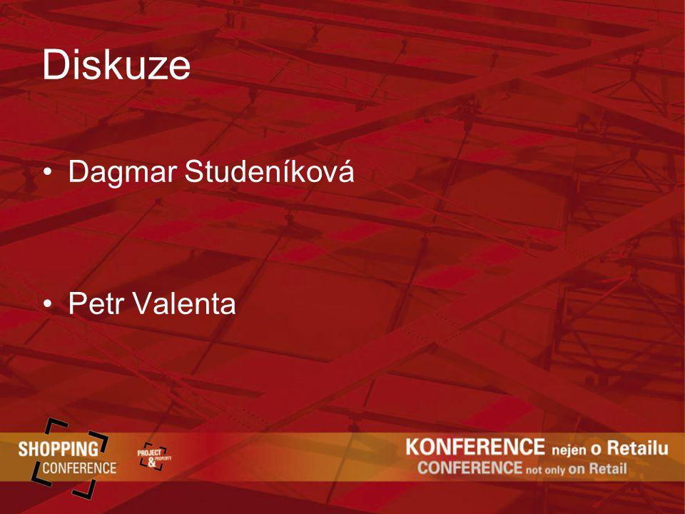Diskuze Dagmar Studeníková Petr Valenta