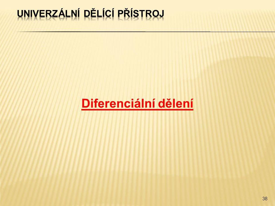 Diferenciální dělení 38