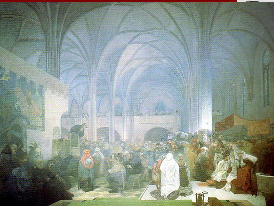 Mistr Jan Hus Narozen asi roku 1371 Husinec u Prachatic studoval na Pražské univerzitě 1409 – Václav IV.