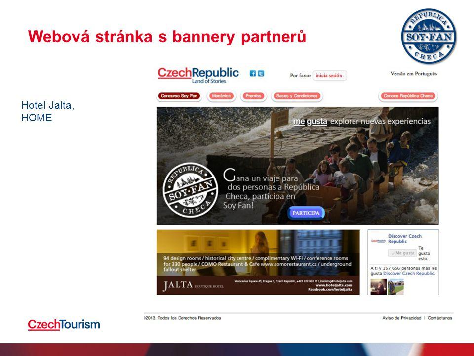 Webová stránka s bannery partnerů 2.4.201511 Hotel Jalta, HOME