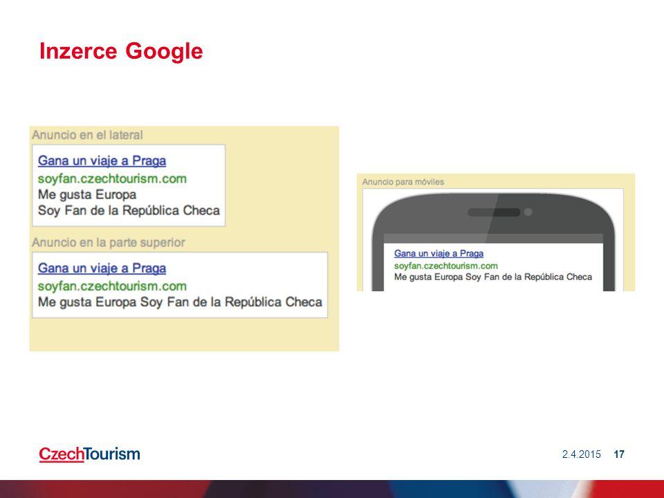 Inzerce Google 2.4.201517
