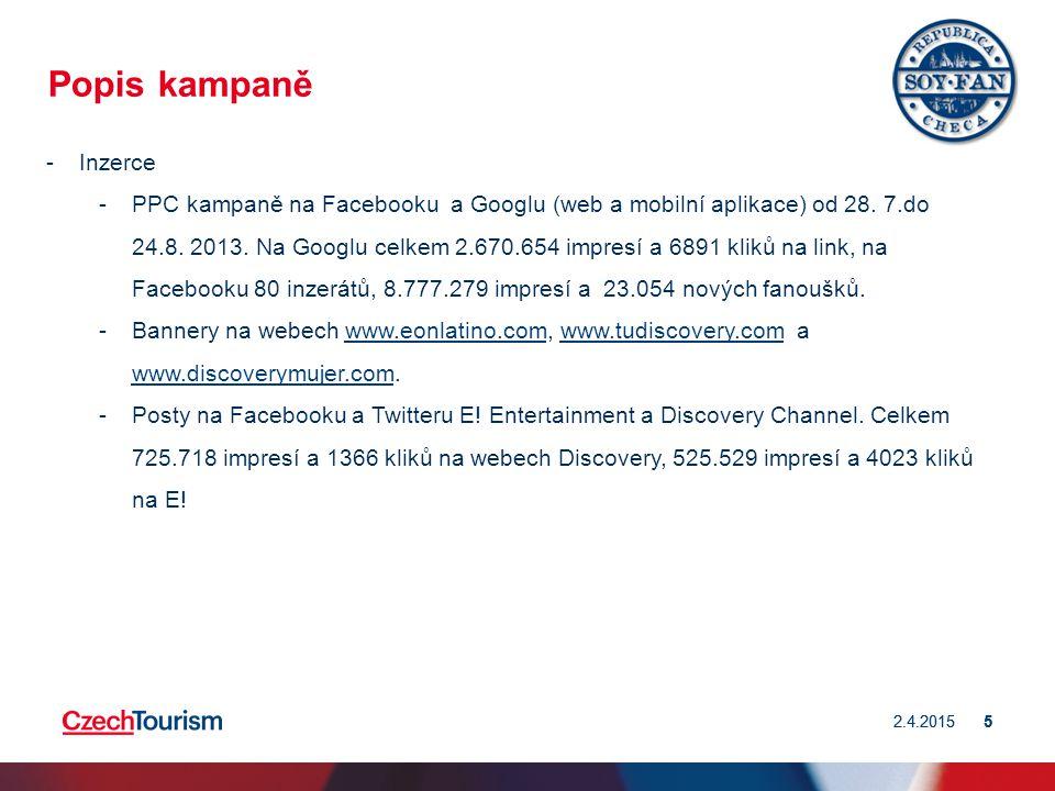 5 5 Popis kampaně -Inzerce -PPC kampaně na Facebooku a Googlu (web a mobilní aplikace) od 28.