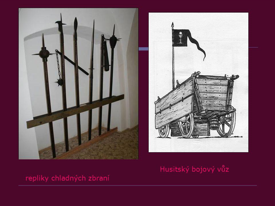 repliky chladných zbraní Husitský bojový vůz