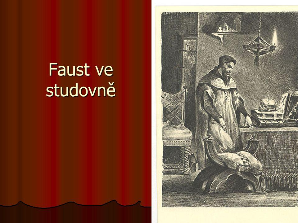 Faust ve studovně