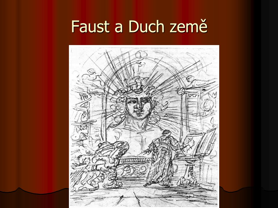 Faust a Duch země