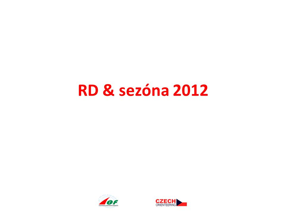 RD & sezóna 2012