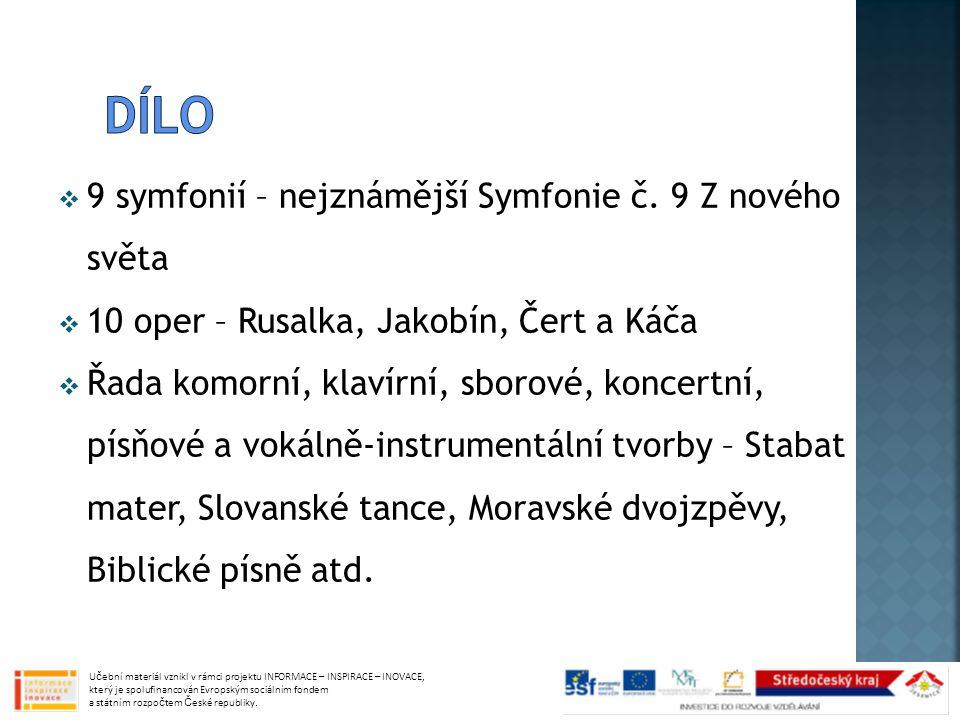  9 symfonií – nejznámější Symfonie č.