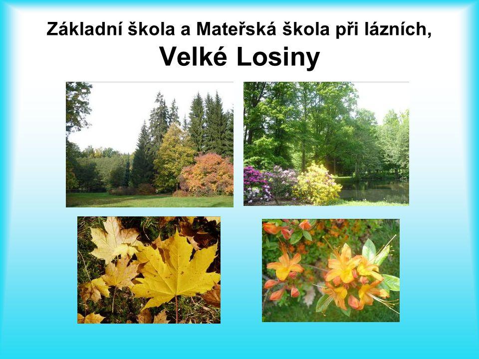 Lázně Velké Losiny Lázně Velké Losiny leží na úpatí Hrubého Jeseníku v údolí řeky Desné.