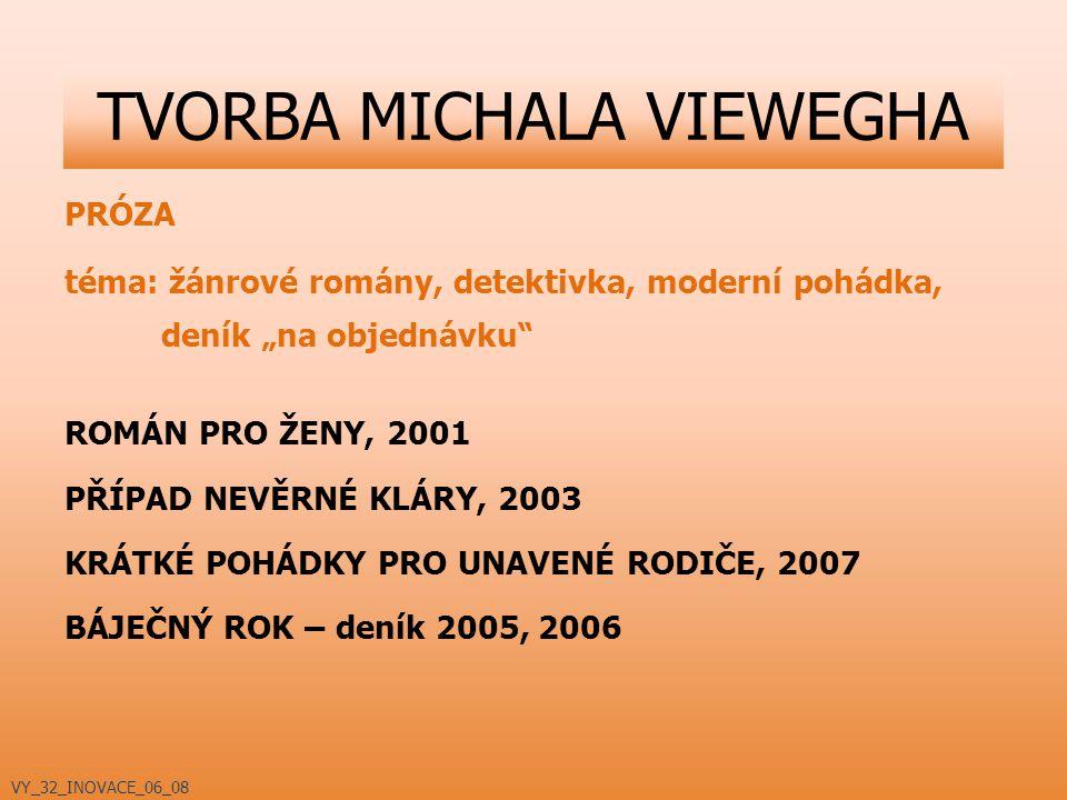 """PRÓZA téma: žánrové romány, detektivka, moderní pohádka, deník """"na objednávku"""" ROMÁN PRO ŽENY, 2001 PŘÍPAD NEVĚRNÉ KLÁRY, 2003 KRÁTKÉ POHÁDKY PRO UNAV"""