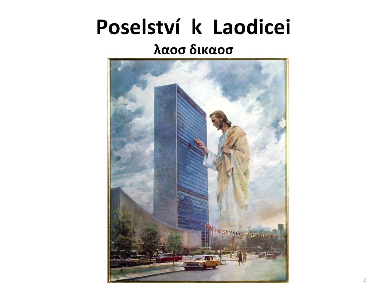 Poselství k Laodicei λαοσ δικαοσ 2
