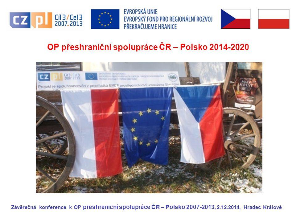 Programové období 2014-2020 Pro programové období 2014-2020 byl pro ČR omezen jak počet dotačních programů, tak i výše finanční alokace.