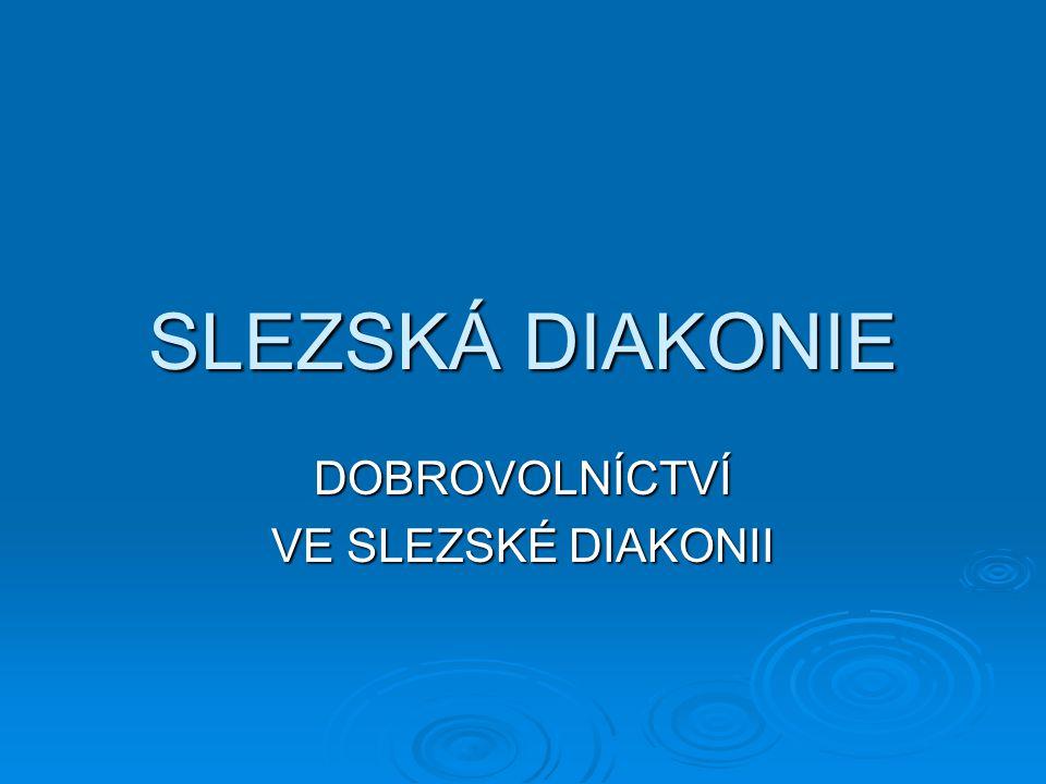 Slezská diakonie je nestátní nezisková organizace, která poskytuje své služby v sociálně - zdravotní oblasti.
