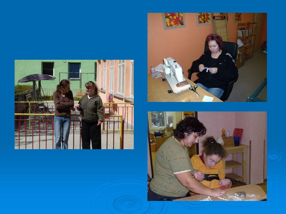 Dobrovolníci fungující s klienty denního stacionáře odpoledne
