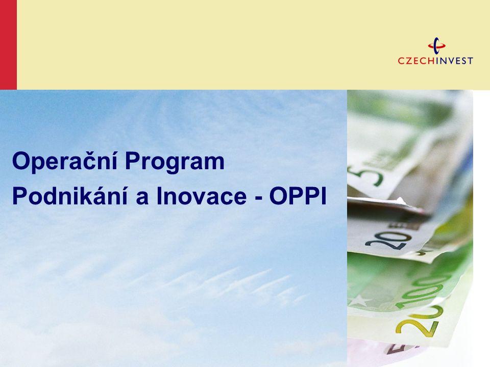 Operační Program Podnikání a Inovace - OPPI