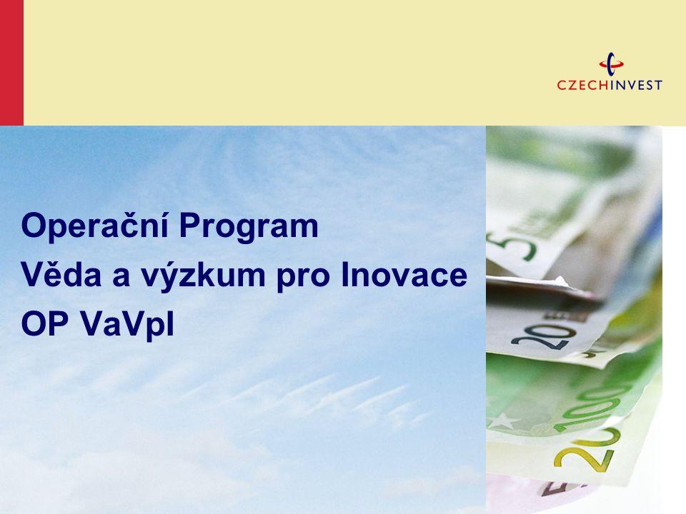 Operační Program Věda a výzkum pro Inovace OP VaVpI
