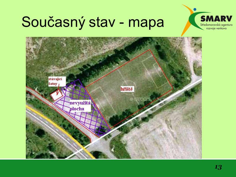 Současný stav - mapa 13