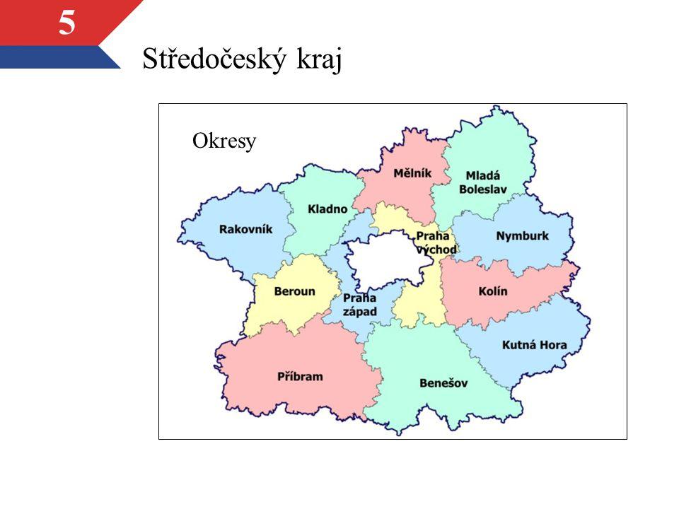 5 Středočeský kraj Okresy