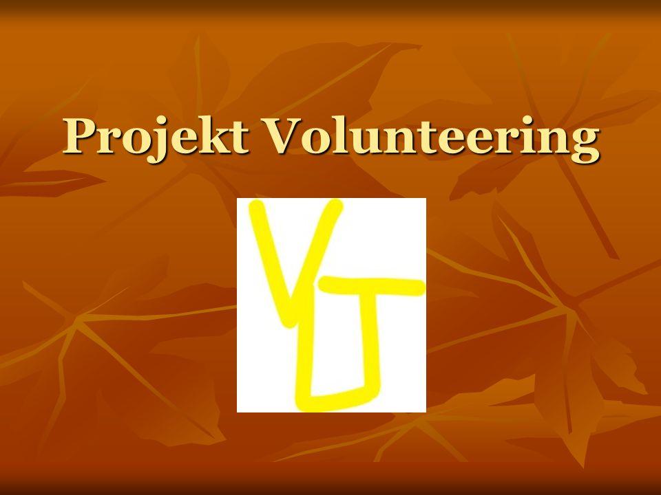 Projekt Volunteering