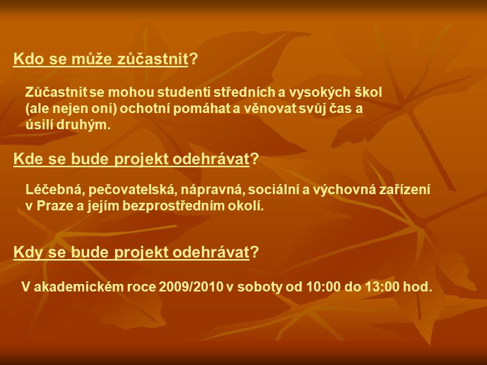 Kontakty: Michal Odehnal tel.: +420 728 314 875 Vladimír Škerko tel.: +420 607 996 242 projekt.volunteering@gmail.com www.volunteering.cz www.ucnabaste.cz