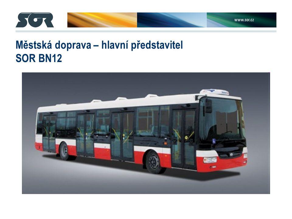 Městská doprava – hlavní představitel SOR BN12