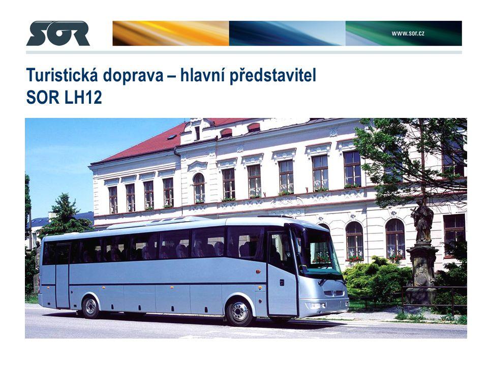 Turistická doprava – hlavní představitel SOR LH12
