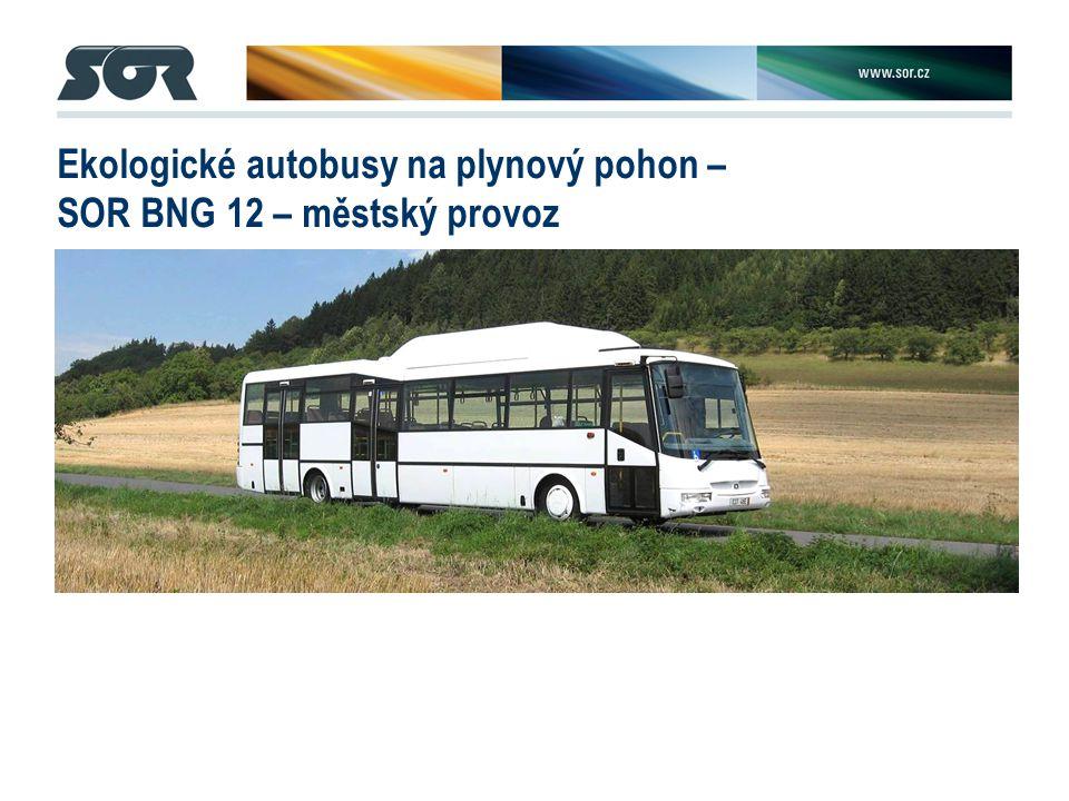 Ekologické autobusy na plynový pohon – SOR BNG 12 – městský provoz