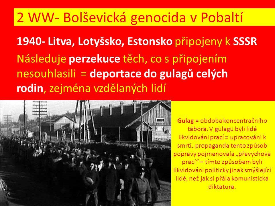 Gulag = obdoba koncentračního tábora.