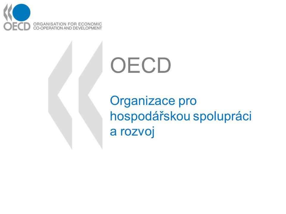 OECD Organizace pro hospodářskou spolupráci a rozvoj